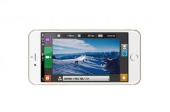 STC for ML CAM High quality live video transmission via iPhone app