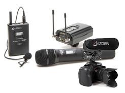Azden microphones