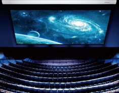 Large Stage Project Series – Motorized Screen