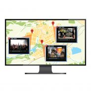 Smart-telecaster GPS+. Manages up to 12 video streams coming in simultaneously