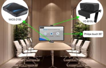 """""""Vén màn"""" giải pháp phòng họp tích hợp công nghệ cao"""