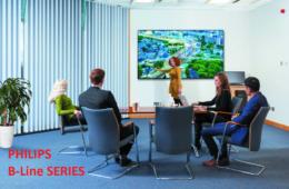 Philips Professional Display Solutions thông báo việc ra mắt dòng sản phẩm B-Line hoàn toàn mới