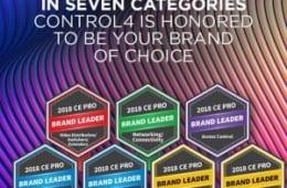 Tìm hiểu về thương hiệu Control4 – Nhà thông minh hàng đầu của Mỹ