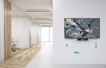 Cảm biến chất lượng không khí PPDS và giải pháp tích hợp bên trong màn hình Philips